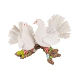 colombes sur branche polyresine 38*20*h25cm