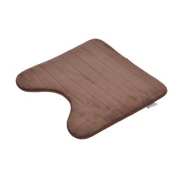 contour wc mémoire de forme microfibre 45*45cm vitamine chocolat