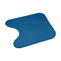 Contour wc microfibre 45*45cm vitamine bleu emeraude Bleu/emeraude