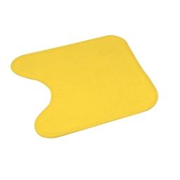 contour wc microfibre 45*45cm vitamine jaune