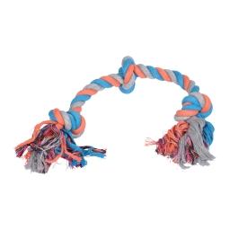 corde coton 3 noeuds 50cm
