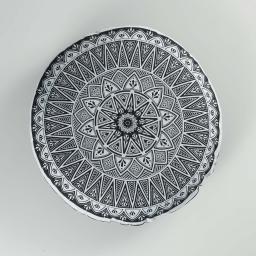 Coussin (0) 45 cm 100% coton imprimé rondaca dessin placé