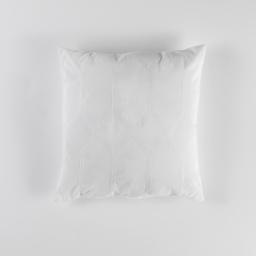 Coussin 40 x 40 cm jacquard bicolore monalise Blanc