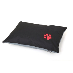 coussin chien rectangulaire 70*45cm bicolore - 300 gr polyester