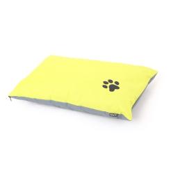 coussin chien rectangulaire 70*45cm bicolore - 300 gr polyester