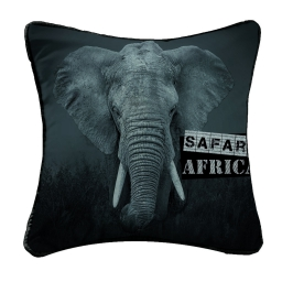 coussin passepoil 40 x 40 cm polyester imprime djumbo des. place