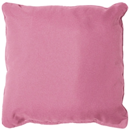 Coussin passepoil 60 x 60 cm polyester uni essentiel Dragee