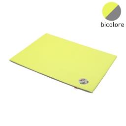 coussin rectangle bicolore vert/gris 80x60x3cm