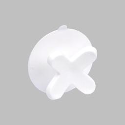 crochet ventouse plastique vitamine blanc
