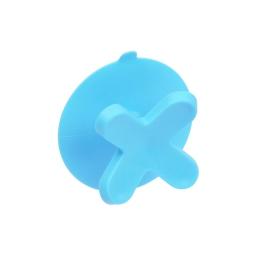 crochet ventouse plastique vitamine bleu ocean