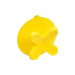 crochet ventouse plastique vitamine jaune