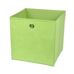 cube de rangement intissé l31*p29*h31cm vert anis