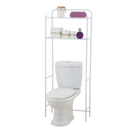 dessus de toilette metal 59*25*h151cm blanc