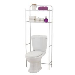 dessus de toilette metal 59*25*h151cm chromé