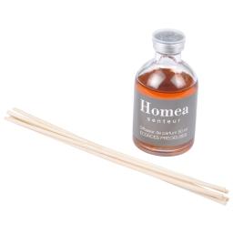 diffuseur de parfum avec tiges - 50ml - parfum écorces précieuses