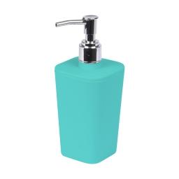 distributeur de savon plastique effet soft touch vitamine vert menthe