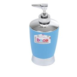 distributeur savon bleu chromé - licence d&co