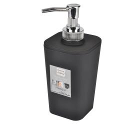 Distributeur savon effet soft touch  douceur d'interieur theme vitamine Noir