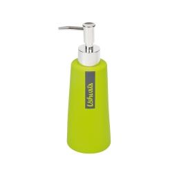 distributeur savon effet soft touch theme hanoi vert - licence ushuaia