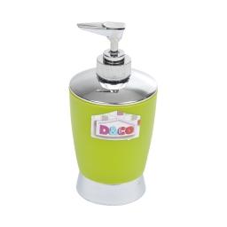 distributeur savon vert chromé - licence d&co