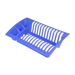 egouttoir vaisselle 43*27*h11cm - indigo