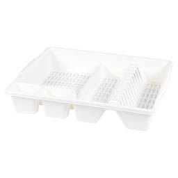 egouttoir vaisselle 47*39*h10cm - blanc