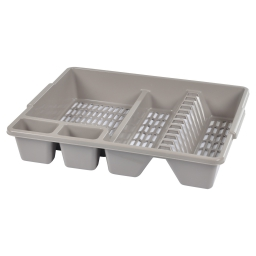 egouttoir vaisselle 47*39*h10cm - taupe