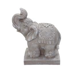 elephant magnesie 33*18*h40cm creme
