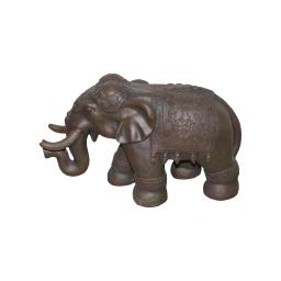 elephant magnesie 65*26*h40cm chocolat