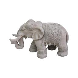 elephant magnesie 65*26*h40cm creme