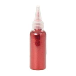 flacon de paillettes-paillettes rouges-45g-5,5*h8cm