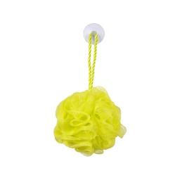 fleur de douche avec ventouse vitamine vert anis