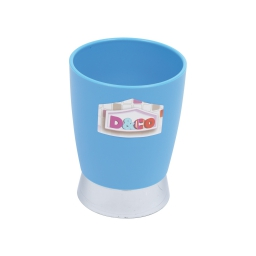 gobelet bleu chromé - licence d&co