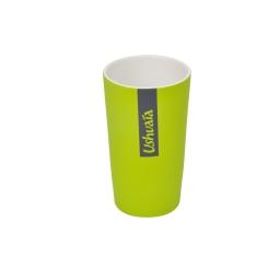 gobelet ceramique effet soft touch theme hanoi vert - licence ushuaia