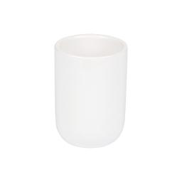 gobelet ceramique vitamine blanc