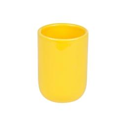 gobelet ceramique vitamine jaune