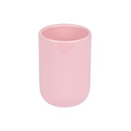 gobelet ceramique vitamine rose poudré