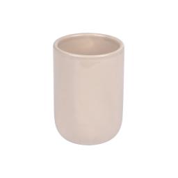 gobelet ceramique vitamine taupe