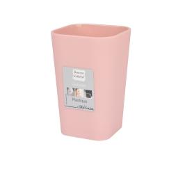 Gobelet effet soft touch rose poudré douceur d'interieur theme vitamine Rose poudre