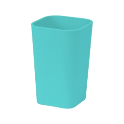 gobelet plastique effet soft touch vitamine vert menthe