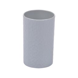 gobelet plastique martelé urban gris clair