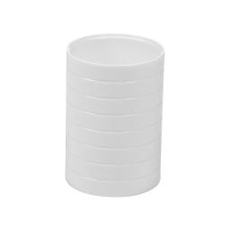 gobelet plastique strié urban blanc