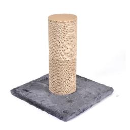 griffoir + 1 recharge en carton l30*p30*h32cm gris