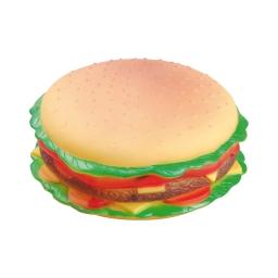 hamburger sifflet en vinyl ø16.5x8cm
