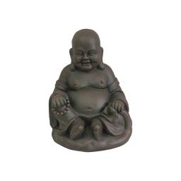 happy bouddha magnesie 24*21*h31cm chocolat