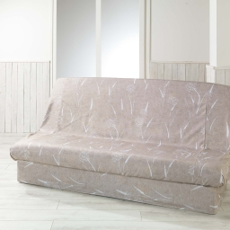 Housse de clic clac 195 x 70 x 65 cm polyester imprime naturea Lin