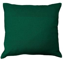 Housse de coussin +encart 40 x 40 cm coton tisse lana Vert