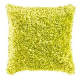 Housse de coussin +encart 40 x 40 cm imitation fourrure c1023 Vert