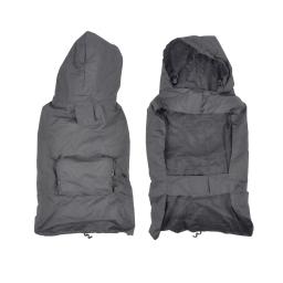 Impermeable avec capuche et poche XL/50cm Gris
