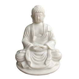 lampe bouddha assis 18*17.5*h23cm